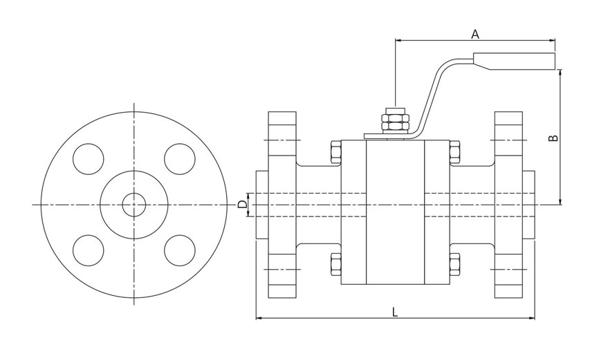 Forged Ball Valves – Reduce Bore